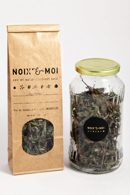 menthe séchée (thé)